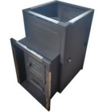 Печь банная Быстрица-30 С со встроенным теплообменником ТеплоСталь
