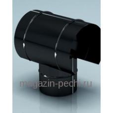 Дефлектор – зонт эмалированный для дымохода, d-115