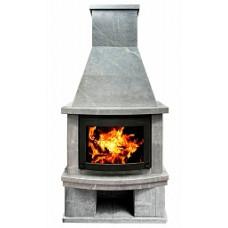 Камин Fs 7-1  для дома и дачи Теплый камень