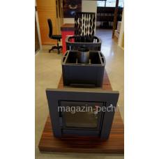 Дровяная печь для бани Kastor (Кастор) Ksis-27 Black