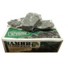 Талькохлорит (20 кг.) камни для бани и сауны