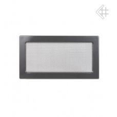 Решетка вентиляционная каминная 17х30, графит (В)