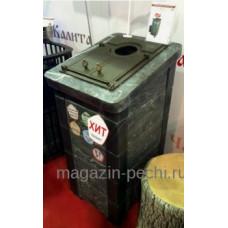 Сударушка Прима с фасками талькохлорид Чугунный портал с чугунной дверьюм