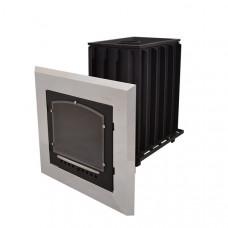 Топочный агрегат Калита стальная окрашенная дверца Инжкомцентр для русской бани (банная)
