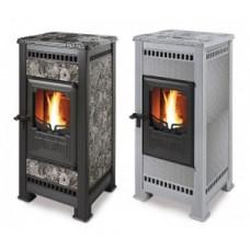 Пеллетная печь-камин Castelmonte (Кастельмонте) Eco Pellet  для дома и дачи