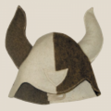 Шапка для сауны модельная Викинг  войлок (Эс)