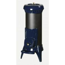 Печь-камин Invicta (Инвикта) Sorel голубая эмаль