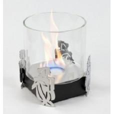 Биокамин Lux Fire Близнецы черный