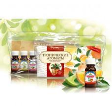 Натуральное эфирное масло №1 набор Тропические ароматы (7шт х 10мл.)