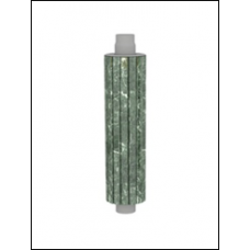 Экономайзер в камне талькохлорит чугунный L 1000 мм