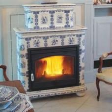 Фаянсовая печь Regnier (Ренье, Франция) Женевьев / Genevieve