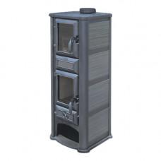 Печь-камин Tim Sistem (Тим Систем, Сербия) Lederata Plus чёрная