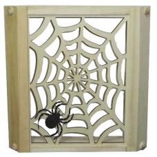 Абажур угловой Паутина с пауком А-24