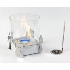 Биокамин Lux Fire Козерог серебро