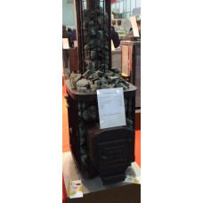 Печь для бани Varvara (Варвара, Россия) Каменка Мини удлиненная топка для русской бани (банная)