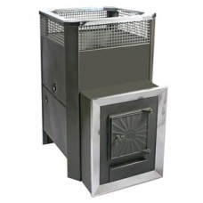 Банная печь Радуга Пб-31 для русской бани толщина металла 4 мм