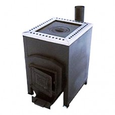 Печь отопительная Varvara (Варвара, Россия) Уют-1с верхним дымоходом Деро и К для дома и дачи