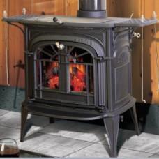 Печь-камин Vermont Casting (Вермонт Кастинг, Канада) Intrepid II матовый черный