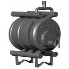 Печь Акватэн АОТВ-19 тип 04 до 1000м3 Бренеран отопительная для дачи и дома