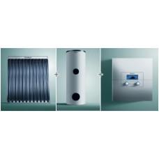 Водонагреватель Vih S 300+солнечный коллектор aurotherm  exclusiv Vtk 1140/2 +регулятор calormatic 620/3