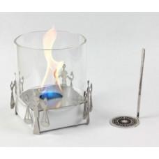 Биокамин Lux Fire Весы белый