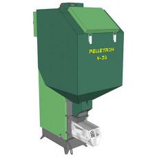 Автоматический пеллетный котел на серой грануле VECTOR 36 III
