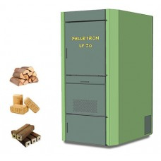 Автоматическая тепловая станция: отопление и Гвс для современного коттеджа Пеллетрон-Lf 30 (Pelletron)