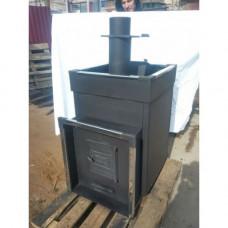 Печь банная Быстрица-24 С со встроенным теплообменником ТеплоСталь