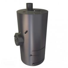 Печь для бани Круглая со встроенным баком 75 литров ТеплоСталь