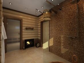 Душевая комната