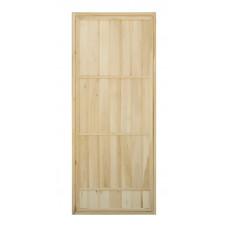"""Дверь банная (липа) 1,80х0,70, глухая """"А"""" (АЛ-37)"""