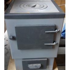 Отопительный котел АОТВК-1-12-3 с плитой Мистер Хит