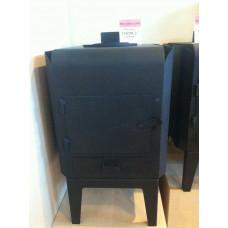 Печь отопительная Гном 2  МЕТА дровяные варочные для дома и дачи купить по выгодной цене