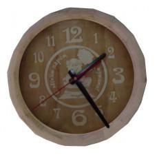 Часы Бочонок С легким паром, мужики! (большие) ЧБ-1Б