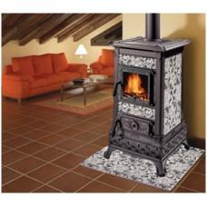 Печь-камин Castelmonte Isabella 80 для дома и дачи