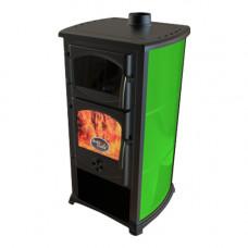 Печь-камин  Cucina зеленая/белая /черная/красная/коричневая/синяя