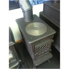 Чугунная печь-камин Jotul F602 N GD BP  для дома и дачи