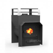 Печь для бани Жара-экстра 400 У с дверкой со стеклом