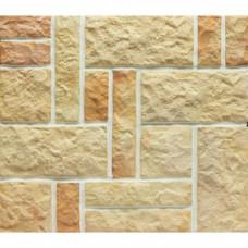 Терракотовая плитка Терракот Рваный камень Хаос разноцвет (0,6 м2)