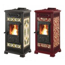 Пеллетная печь-камин Castelmonte Marilyn Pellet Hybrid  для дома и дачи