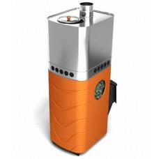 Печь-каменка Бирюса ДА ЗК Carbon Терракота Термофор дровяная банная для бани и сауны купите по приемлемой цене