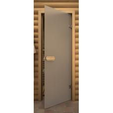 Стеклянные двери для бани и сауны Серия «Aspen» Б/ц матовое