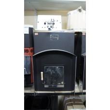 Дровяная печь-каменка Вулкан ЭЛЬБРУС 20 с теплообменником Стандарт для бани
