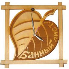 Часы Банный лист Ч-БЛ