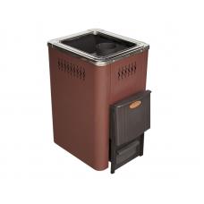 Печь банная NIKA 10 К (короткая топка) цвета антрацит/графит/коричневый/красный