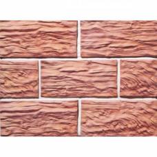 Терракотовая плитка Терракот Скол дерева Макси классик (0,8 м2)