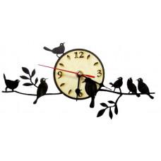 Часы Птички на ветке ЧР-ПТ