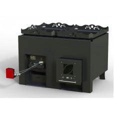 Печь для сауны RST 36/2/Т сдвоенная, под теплообменник